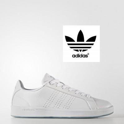 【鞋印良品】ADIDAS愛迪達 CF ADVANTAGE CL 女鞋 休閒運動鞋 CG5757 全白學生 板鞋 記憶鞋墊