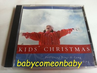 舊CD 英文合輯 KIDS' CHRISTMAS Featuring Sing A Long Split Track R