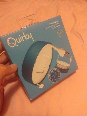 quirky 蘋果 電腦 理線盒 整線器 橡膠材質