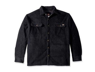 全新 現貨S 美版 Dickies fleece quilted jacket 襯衫 夾克 鋪棉 保暖 復古 騎士 工裝