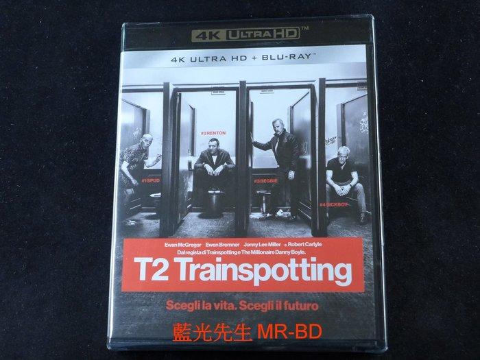 [4K-UHD藍光BD] - 猜火車2 T2 Trainspotting UHD + BD 雙碟限定版