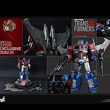 全新 Hottoys 變型金剛 柯柏文 Hot Toys Transformers Optimus Prime Special Edition