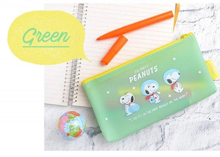 《散步生活雜貨-文具散步》日本進口 Peanut -  Snoopy 史努比 大容量 筆袋 筆盒MAMS-0579