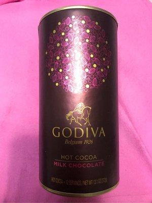 Godiva  hot cocoa chocolate 熱可可粉 牛奶巧克力口味 黑巧克力