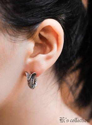 奧嘉設計精品 K's Collection 925純銀飾 立體眼鏡蛇雕塑耳環 生肖 歐美明星 日系樂團 男女用 單只售