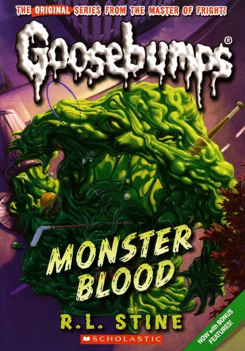 *小貝比的家*GOOSEBUMPS#3:MONSTER BLOOD/平裝/7~12歲/小說