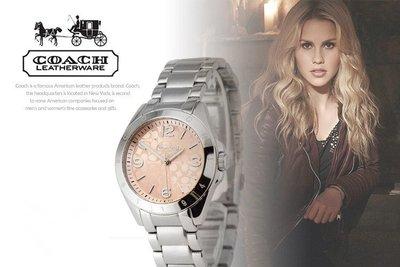 【Woodbury Outlet Coach 旗艦館】COACH 14501782 女士手錶 精鋼 美國代購100%正品