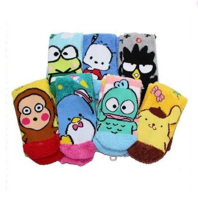 襪子 三麗鷗  保暖襪 毛襪 多款任選...