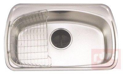【路德廚衛】ENZIK sink韓國不鏽鋼水槽- DS-700 不鏽鋼單槽70CM  歡迎來電詢問!!