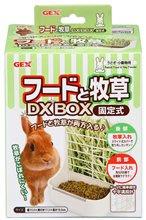 【新竹第一家】GEX 固定式兩用食盆/牧草架
