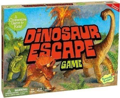 【陽光桌遊世界】 Dinosaur Escape 恐龍逃離火山 德國桌上遊戲 board game