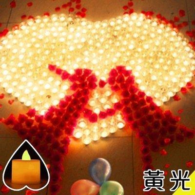 八號倉庫 電子蠟燭燈 求婚 浪漫 套餐 婚慶 表白 生日 創意蠟燭 LED電子蠟燭 黃光【2C005Z024】