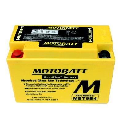 MOTOBATT AGM 強效型機車啟動電池 - MBT9B4