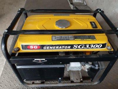(已售出)SG Generator SG-3300發電機