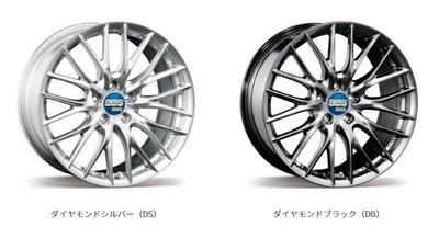 DJD19071821 日本BBS FZ-MG 1片式 19吋 鎂合金鍛造鋁圈 依當月報價為準