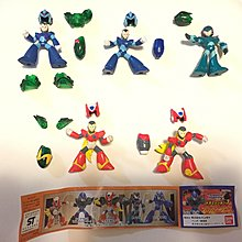 Bandai Rockman Megaman 洛克人 X Armor 裝甲 Capsule Toys 扭蛋 第3彈