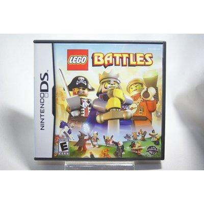 [耀西]二手 美版 任天堂 DS NDS 樂高 Lego Battles 含稅附發票
