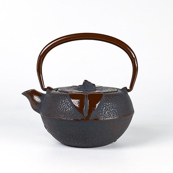 日本鑄鐵壺南部鐵器【寶星堂】柚子型  急須 0.3L 附濾網 鑄鐵壺 茶壺 泡茶壺 茶具