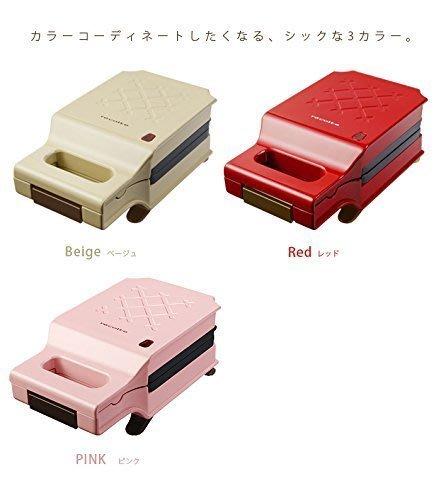 *EScorp*日本recolte 三明治機 RPS-1-(紅色 / 粉色 / 米色) $1250 (現貨+預購)