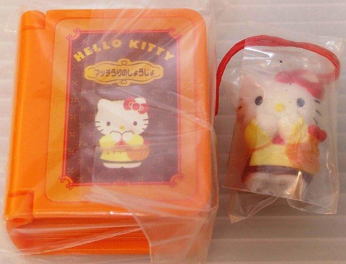 龍廬-自藏出清~扭蛋吊飾-Hello Kitty公仔 小小童話書系列扭蛋-賣火柴的小女孩/只有一個