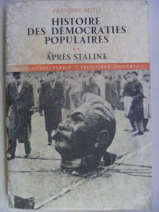 【月界】Histoire Des Democraties Populaires_Stline_法文書 〖歷史〗AHS