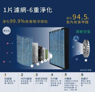 【皓翔】  海爾 醛效抗敏 小H  空氣清淨機 AP225  抗PM2.5 /  除甲醛