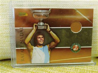 (記得小舖)Rafael Nadal 2008 法國公開賽 紅土冠軍卡 台灣現貨 非常稀少值得收藏