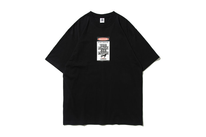 "[ LAB Taipei ] BlackEyePatch ""DAGER HOT LABEL TEE"" (Black)"