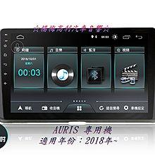 ☆楊梅高利汽車音響☆JHY M3 (雙聲控)TOYOTA AURIS 10吋安卓專用機(藍芽.導航.WIFI.手機互連)