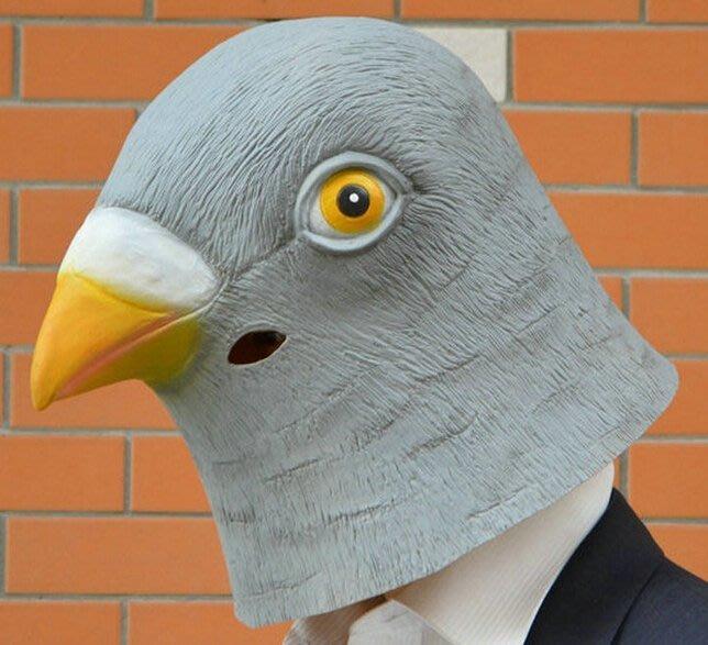 鳥人面具 萬聖節 鴿子 賽鴿 鳥人 憤怒鳥 面具/眼罩/面罩 cosplay 派對 整人 變裝【A77004501】