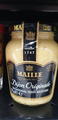 2/26前 法國進口 MAILLE 芥末醬 215g 到期日2021/11/24