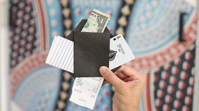 【天天魔法】【1878】4 Out信封~Number 4 Envelope by Blake Vogt