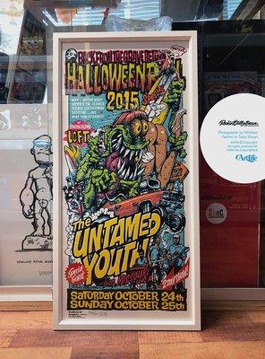 Artlife @ Rockin Jelly Bean HALLOWEEN BALL 2015 怪物跑車 絕版 海報