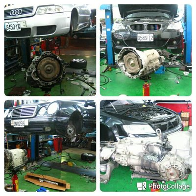 寶馬 BMW 變速箱整理維修 E36 E46 E90 E91 E92 F30 F31 318 320 323 325