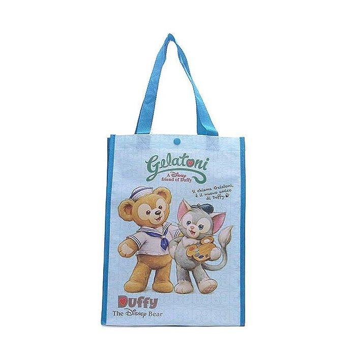 ☆Juicy☆ 日本 海洋迪士尼 DISNEY Duffy 達菲熊 畫家貓 購物袋 托特包
