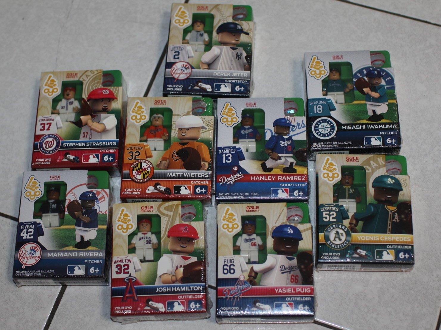 【巨砲猛男 PRO SHOP】MLB X LEGO 樂高 現貨區