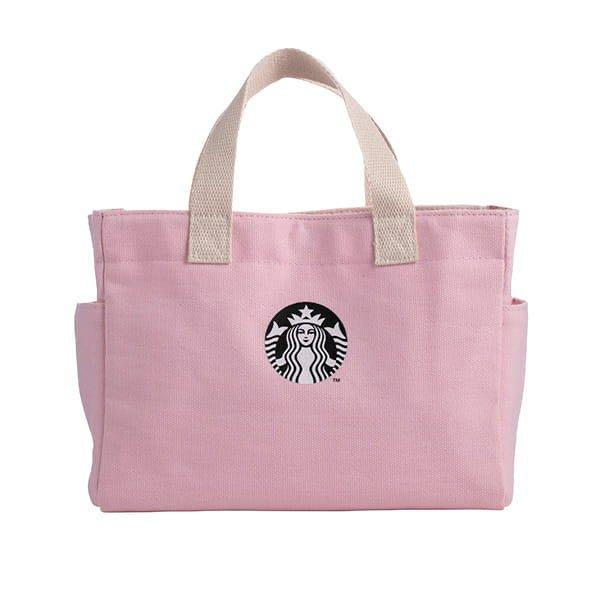 星巴克 心心相印粉色提袋 starbucks 2020/1/21上市