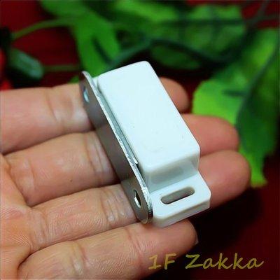 壹樓雜貨 1F Zakka - 【木工五金-門吸磁碰櫃門磁碰磁石戶擋門扣夾(四)】一包1入,附螺絲 嘉義市