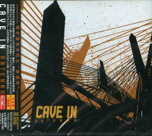 K - CAVE IN - CAVE IN ANTENNA - 日版 +1BONUS - NEW