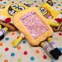 【現貨出清】海綿寶寶立體刺繡零錢包 自動伸縮卡套 悠遊卡套 收納包