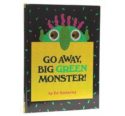 *小P書樂園*   Go Away, Big Green Monster!