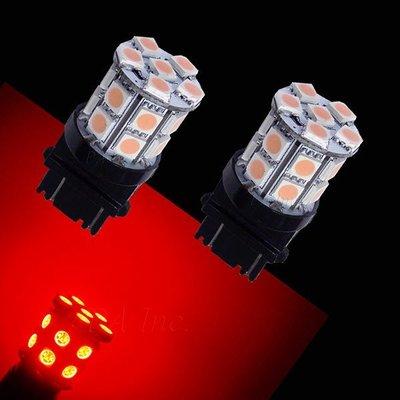 【PA LED】3157 雙芯 20晶 60晶體 SMD LED 紅光 360度發光 後燈 煞車燈 方向燈