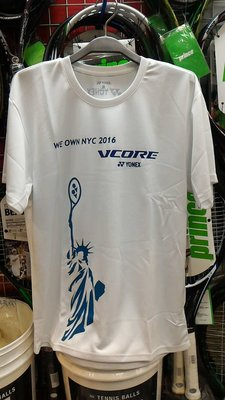 總統網羽球(自取可刷國旅卡) YONEX 自由女神  短袖 運動 吸汗速乾 排汗  T恤   台灣製造 只有 L 號