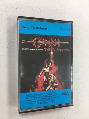 Conan the Barbarian 王者之劍 電影原聲帶 / 卡帶 錄音帶 多年收藏