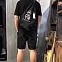 Y3胸包背包情侶包健身包登山包黑武士明星同款29*52cm