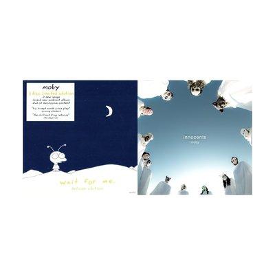 現貨 全新未拆 福袋 Moby 魔比 Wait 等 限量版 2CD+DVD Innocents 純真 雙碟豪華盤 專輯組