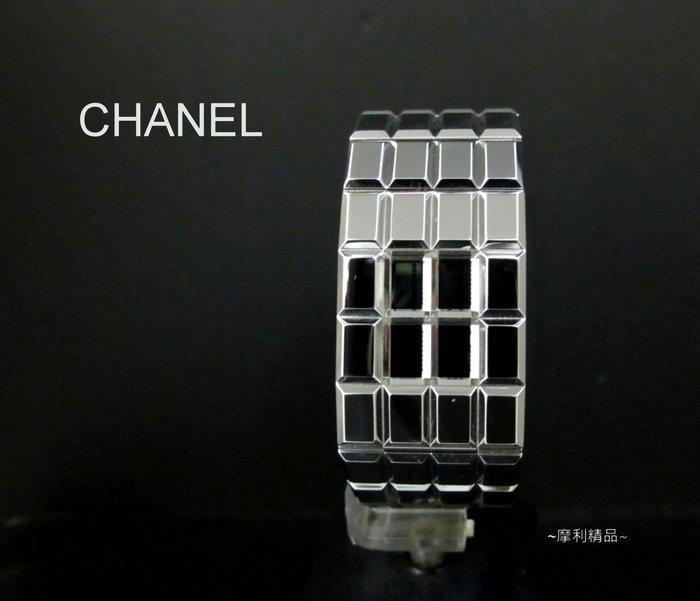 【摩利精品】chanel巧克力磚液晶女錶 *真品*特價中