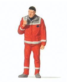傑仲 (有發票) 博蘭 Preiser 人物組 Paramedic 28240 HO