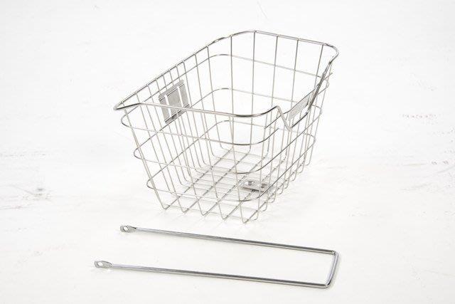 鋼絲型自行車鐵製菜籃。