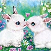 拼圖專賣店 日本進口拼圖 66-131(600片拼圖 原井加代美 小兔子的戀愛)